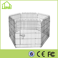 hot sale out door zinc wire folded dog playpen