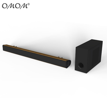 OM-SB200BT Multimedia Speaker Woodern SoundBar BT with Home Theatre System
