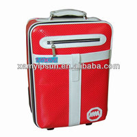 PU Luggage With Inner Trolley Bag