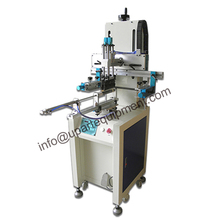 vertical automatic screen printing machine for plastic bottles