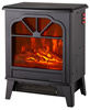 SF-1501B Free standing type real log flame effect radiant heater