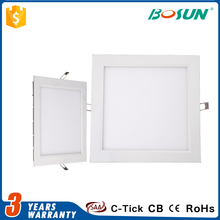 Factory supply 3w 6w 9w 12w 15w 18w 24w smd square led panel light