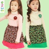 Fancy Kids Baby Girl Winter Dresses