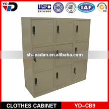 clothes cabinet,louver door wardrobe,wardrobes with 9 doors