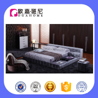 B1006 elegance romantic relaxing bedroom new design double bed