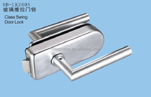 Aluminum glass sliding door locks For Hotel