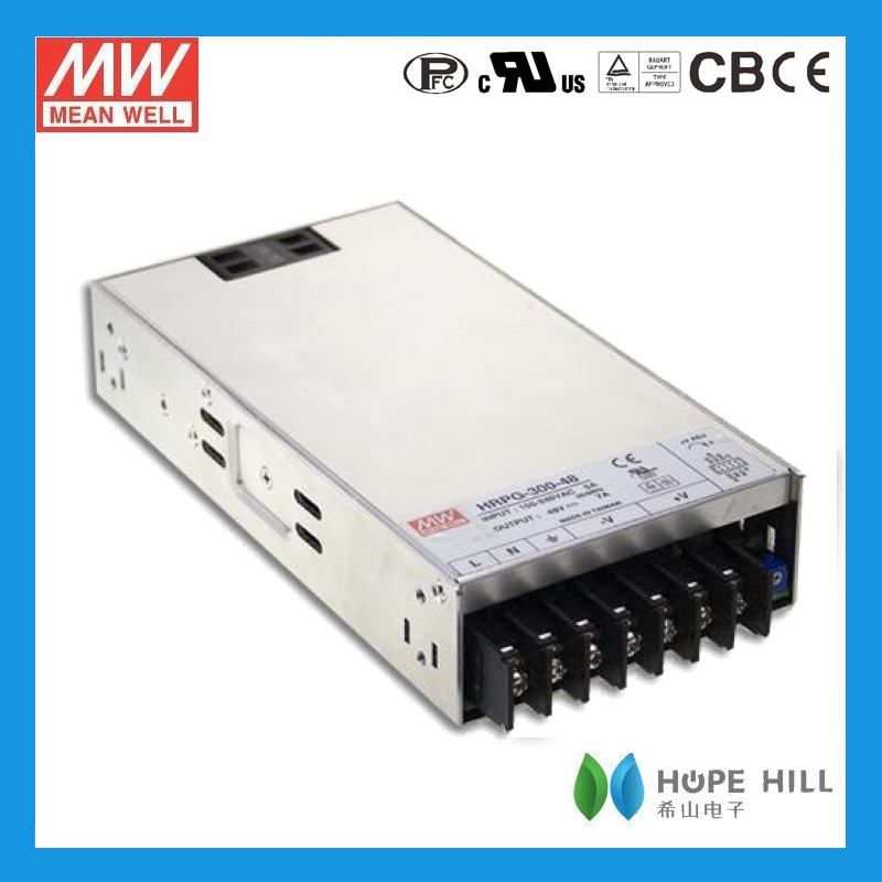 Original MEAN WELL 300W Single Output with PFC Function HRP-300-7.5
