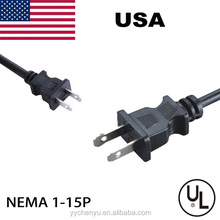 USA power supply cord 2pin