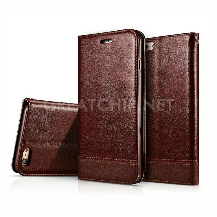 2016 New smarpthone accessories in stock PU flip leather case for Samsung galaxy S7 small order welcome