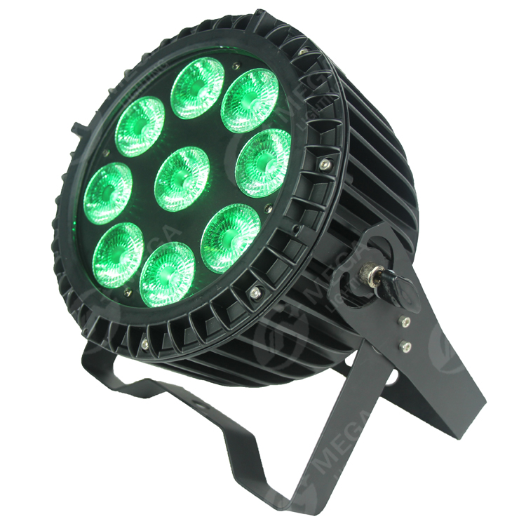 high power RGBWA+UV 6in1 9*15w waterproof led par outdoor light