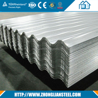 Competitive Price color roofing galvanized sheet metal roofing with low price