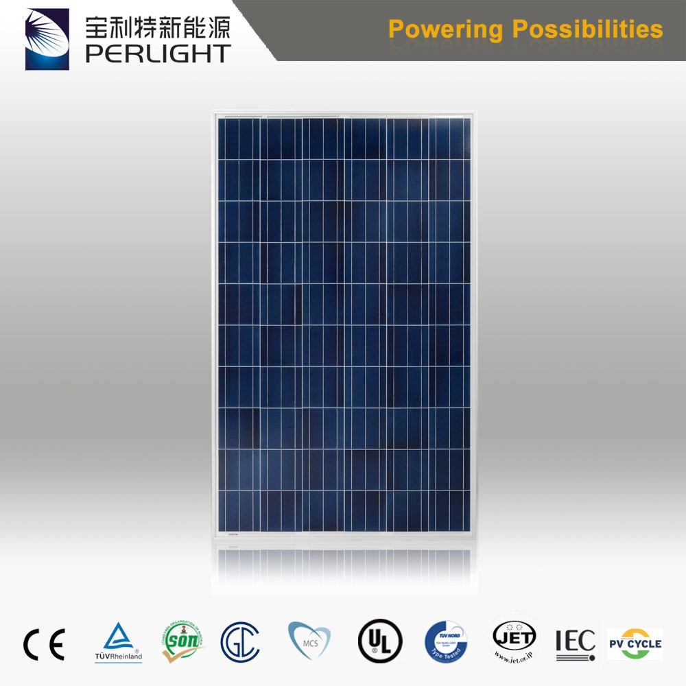 High Efficiency Perlight Flexible Solar Panel 270W Solar Module