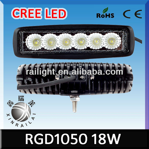 18W Led Flood Beam Work Light 9-32V Offroad Auto Led Light for Hyundai Atos Parts