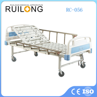 Latest Type Home Care 1 Crank Hospital Nursing Bed In Low