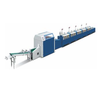 Test Paper Gathing & Binding Line /Machine