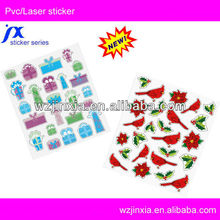 transparent animal PVC sticker printing