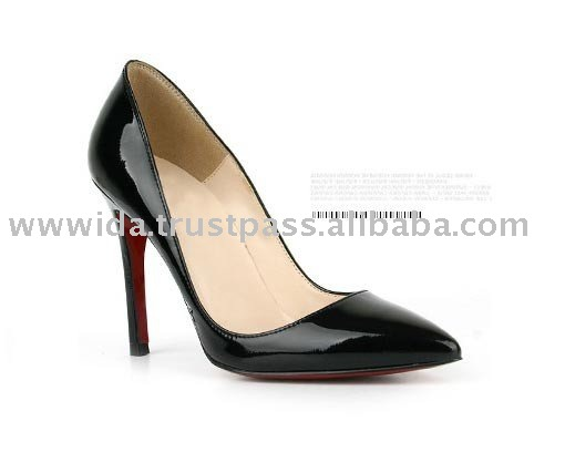 [KITA]Slim Line Patent Leather High Heel Pumps Women's Pumps shoes
