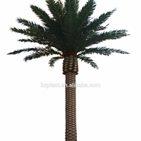 2018 new products fake date palm tree plastic palm tree for home garden
