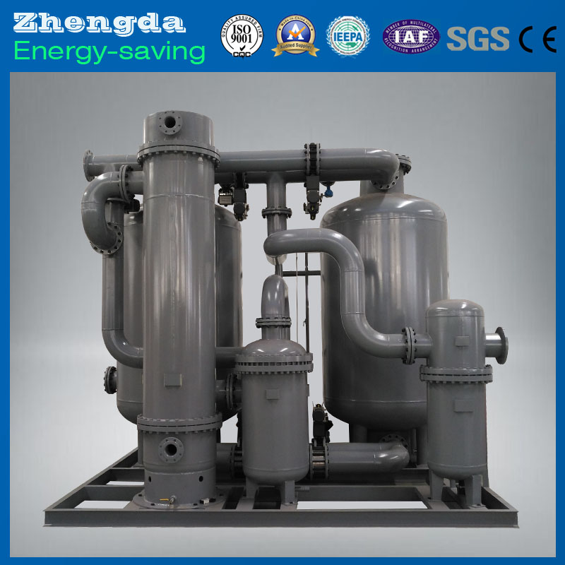 Absorption compressed air dryer with nitrogen generator for sale
