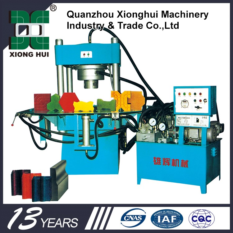 Vibrating Table Concrete For Paver Machine XH3000 Xionghui Machinery Group