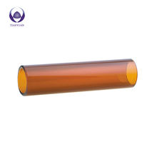 Borosilicate glass tube container raw materials hard high tempered glass tubing