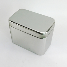 Vintage Metal Rectangular Spice Tin Box Spice Tin Can Spice Tin Containers
