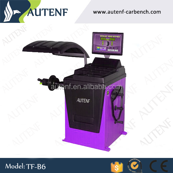 Used Automatic car motorcycle wheel balancing machine for tire balancing