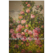 original abstract canvas flowers oil painting for living room