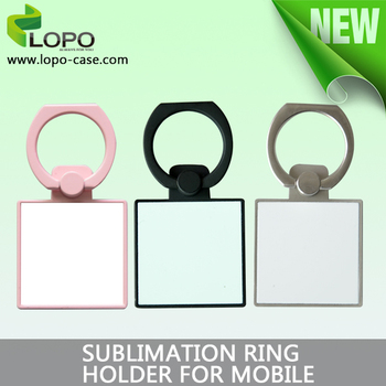 New customized blank Phone Ring Holder for sublimation printing