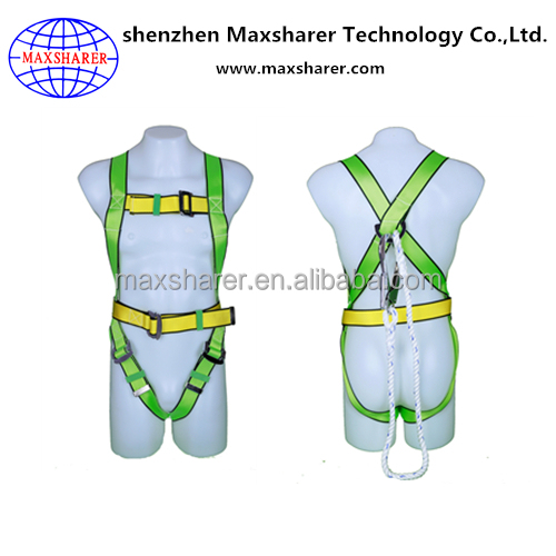 Full body construction safety belts