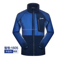 sunscreen clothing sunmer coat in dark blue color light clothing waterproof clothing
