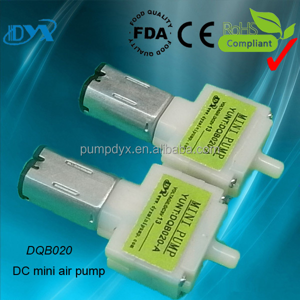 DC3/6Vmini electrical diaphragm air heat pump air heating system