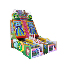 Arcade bowling equipment for children cricket bowling game machine for sale