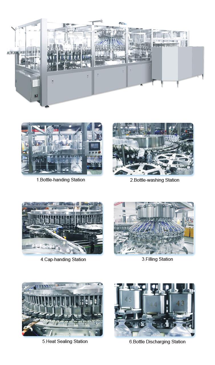 Normal Saline Plastic Bottle IV Solution Liquid Filling Machine Production Line Turnkey Packaging Plant