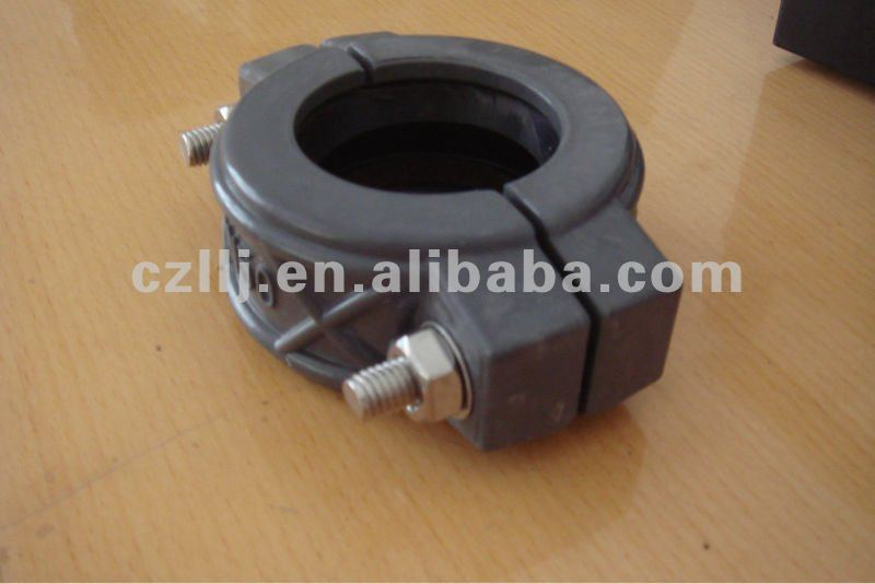 "Easy using 8"" DN200 219mm pvc pipe coupling electrical with Grooved Fittings use punching molding"