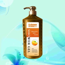 skin whitening pleasant fragrance soothing shower gel