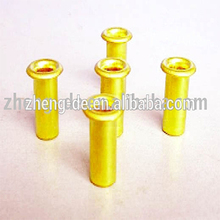 Manufactor direct selling 7340 din brass rivets,brass copper tubular rivets