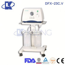 DFX-23C.V-I Surgical use mobile vacuum suction pump medical