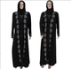 Bead floral detailed Black simple evening dress kaftan arabic abayas