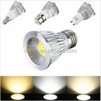 2015 Dimmable E14/B22/GU10/E27 COB LED Spotlight Adjustable Color Temperature 5W 7W 9W Downlight LED Bulbs Light Lamp