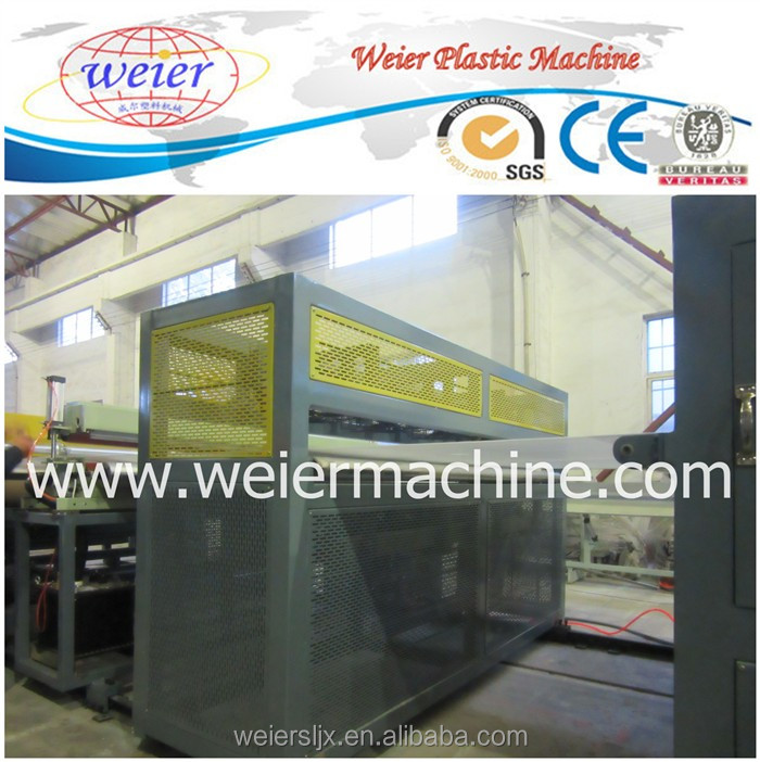 PP PE PC Hollow Sheet Machine Plastic Hollow Sheet Board Production Line
