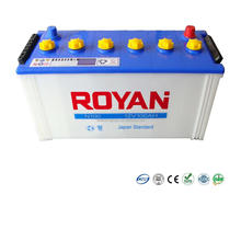 100% Tested 12V 100Ah Dry Charged Heavy Duty Car Truck Battery 1 Year Warranty Vehicle Battery High Performance