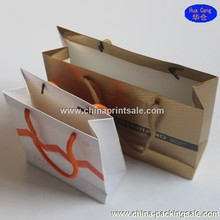 Top quality 200gsm art paper bag/craft paper bag for sale