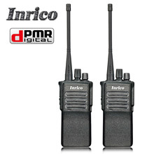software upgrade 5W Low Power DPMR Two Way Radio DP518 Inrico /1500mah/2000mah