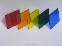 Color PVB Glass for buildings