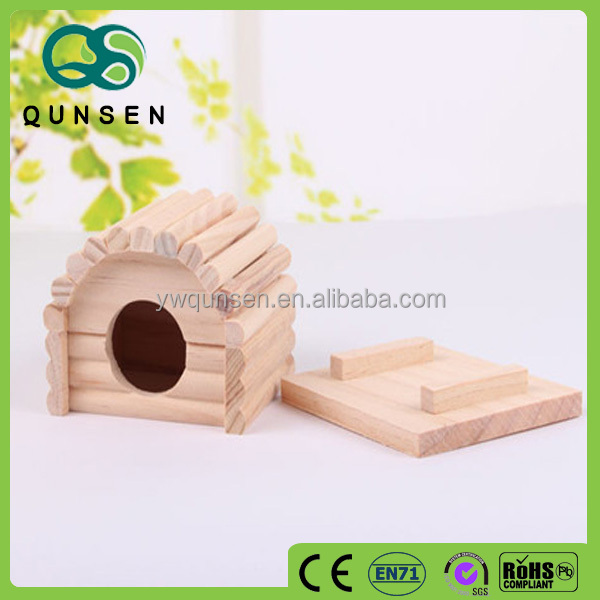 comfortable house ceramic wooden pet house