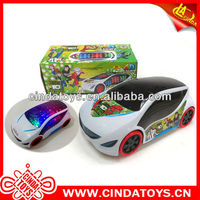 Ben 10 plastic music electronic toy car