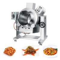XYCGW1Food processing equipment ,sauce,nut cooking kettle with scraper