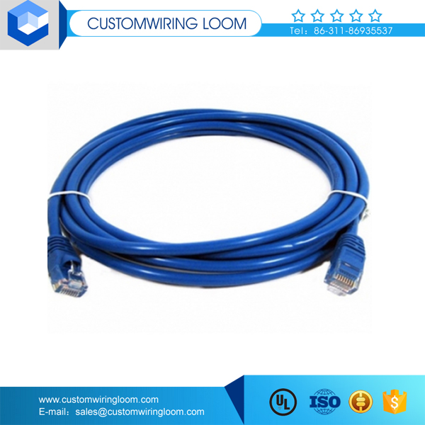 manufacturer price adp cat6 network cable utp cable with dual female connector