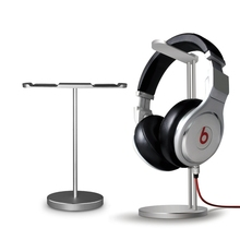 aluminum alloy headphone stand one holder headphone stand headphone stand with two hanger from Shenzhen factory